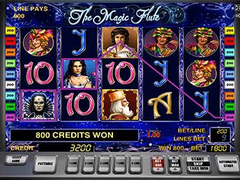 The Magic Flute автомат с бонусами за регистрацию