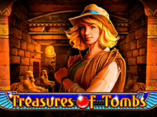 Онлайн слот Сокровища Гробницы